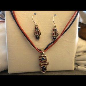 New Patriotic jewelry set